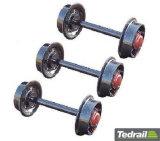 Rodas Railway para todos os tipos de vagões do frete
