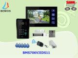 Doorbell video sem fio do intercomunicador do telefone da porta de Multifunctinal com câmera do IP
