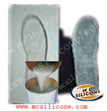 液体のシリコーンを作る靴の中敷の靴底型