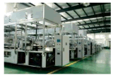 TWJ Máquina (horizontal) de alta velocidad adhesivo de etiquetado automático