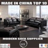 Klassisches und elegantes ledernes Sofa gesetztes Lz077b