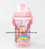 цветастая бутылка воды малышей 450ml, пластичная бутылка воды детей, бутылка воды зеленого цвета