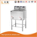 Frigideira profunda da frigideira elétrica ereta livre do anúncio publicitário de Sc-869 28L