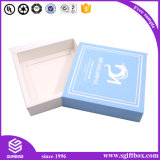 Rectángulo de papel de empaquetado del cajón de la cartulina de encargo de lujo del regalo