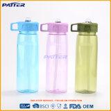 Бутылка питьевой воды по-разному цветов прочная пластичная