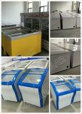 réfrigérateur solaire de C.C de la grande capacité 258L pour l'usage à la maison