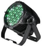 54*3W o diodo emissor de luz RGBW 4in1 Waterproof as luzes de alumínio da PARIDADE