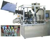 Автоматические мягкие пластичные завалка пробки и машина запечатывания
