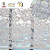 2017 bei del reticolo del tessuto del merletto ed i più nuovi disegni di nylon floreali Ln10039