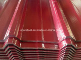 Prepainted Gi 강철 코일/PPGI/PPGL 색깔에 의하여 입히는 직류 전기를 통한 강철판