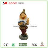 Декоративный Figurine Gnome сада с каннелюрой для напольного украшения