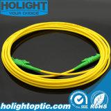 Koord E2000A aan E2000A Simplex Gele Sm van het Flard van de vezel het Optische