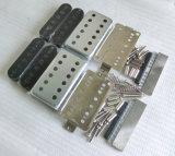 12 набора приемистости гитары Lp Baseplate крышки серебра никеля отверстий