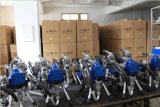 Rociador privado de aire de la pintura con el regulador de presión mecánico