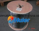 Hete Verkoop CCA van 50 Ohm Coaxiale Kabel S400 met de Dekking van 95%