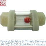 El plástico y las bolas visuales de PPR fluyen indicador para los líquidos