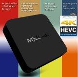 Casella Android ad alta definizione Mxq-4k di HDTV 4k WiFi TV della televisione della rete