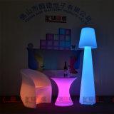 Lámpara de suelo cambiante del nuevo del LED color al aire libre de los muebles que coloca IP67 impermeable