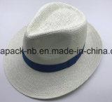 Equateur Hut-weißer Panama-Hut Spaper StrohChapeau (CAP_60021)