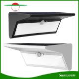 O sensor de movimento solar ilumina a luz ao ar livre da lâmpada do jardim da segurança sem fio do diodo emissor de luz 800lm 46 com 4 modalidades de iluminação inteligentes