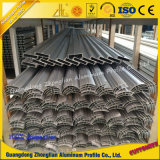 Profils en aluminium de nettoyage d'extrusion pour la construction de pièce propre
