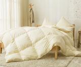 ホームのための極度の絹カバー100%白のガチョウの羽毛布団