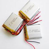 batterie rechargeable de Plib d'ion du polymère Li-PO de lithium de la batterie 603443 de 3.7V 900mAh pour la composante électronique mobile de MP3 MP4 MP5 GPS PSP