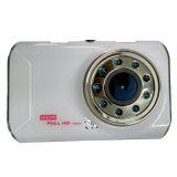 Mini gravador de vídeo do carro com visão noturna de 9 luzes do IR