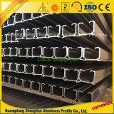 Correderas de aluminio perfil de aluminio C Canal de Sistema de techo