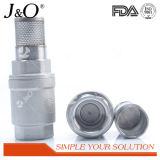 Sanitaria de acero inoxidable filtro de comprobación de válvulas con red vertical Ninguno válvula de retorno