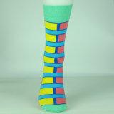 Form-weicher Streifen gestrickte Socken/, die warme Form-Socken halten