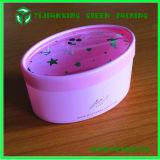 Câmara de ar de empacotamento oval cor-de-rosa plástica para doces