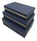 Подгоняйте бумажную Handmade коробку для упаковывая ткани