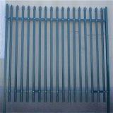 PVC에 의하여 살포되는 금속 강철 Palisade 검술