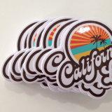 이동할 수 있는 개별적인 방수 장식적인 로고 레이블은 스티커를 인쇄하는 커트를 정지한다