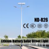 120lumens por las luces de calle solares del vatio LED (ND-R26)