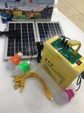 20Wによって12V 26ahは使用および屋外の使用の携帯用太陽照明キットが家へ帰る