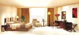Conjuntos agradables de los muebles del dormitorio del hotel con la cama matrimonial