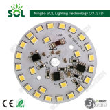 Módulo del tablero 3W 5W 7W 9W 12W LED AC PCB para Downlight del bulbo