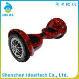 10 planche à roulettes électrique de équilibrage de mobilité d'individu de roue de pouce deux