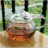 2016 Горяч-Продавая комплектов кофеего чая дуновения руки чайника чая высокого цветка чайника Resisitant пожара боросиликата ясного стеклянного гремя стеклянных