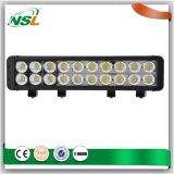 riga fuori strada della barra chiara di 200W LED doppia, barra chiara luminosa eccellente impermeabile del IP 68 ultra sottili LED della barra chiara del LED
