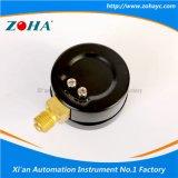 Calibradores de presión negros multiusos del shell con la escala doble