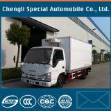 Caminhão do congelador de Isuzu 5tons 4X2 Qingling 600p 17cbm com refrigerador