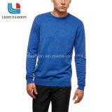 순수한 색깔 면 남자의 스웨터