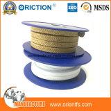 Imballaggio di ghiandola Braided della fibra PTFE Kevlar di Aramid dell'imballaggio di PTFE