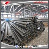 Prezzo vuoto rotondo a basso tenore di carbonio verniciato nero dei tubi d'acciaio del gr. B 2inch ERW