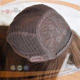 Цвета Brown человеческих волос верхнего качества надкожица нетронутого полная на еврейском Kosher экстраклассе
