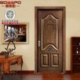 Puerta de madera interior decorativa de la laca de la fábrica de China (GSP2-016)