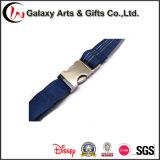 Azul oscuro tejido de poliéster Cordón para el cuello / correa